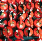 51151762 - many red fire extinguishers